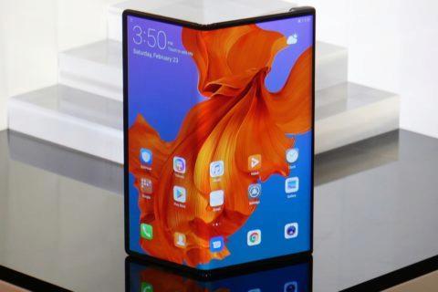 Ohebný Huawei Mate X - datum