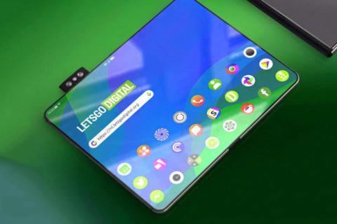 Ohebný mobil Oppo