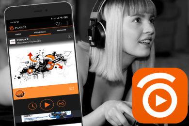 S aplikací PLAY.CZ můžete poslouchat rádio i na mobilu bez FM přijímače
