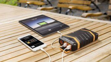 Powerbanka - nabíjení mobilu