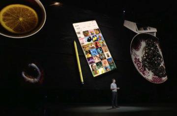 Představení Samsungu Note