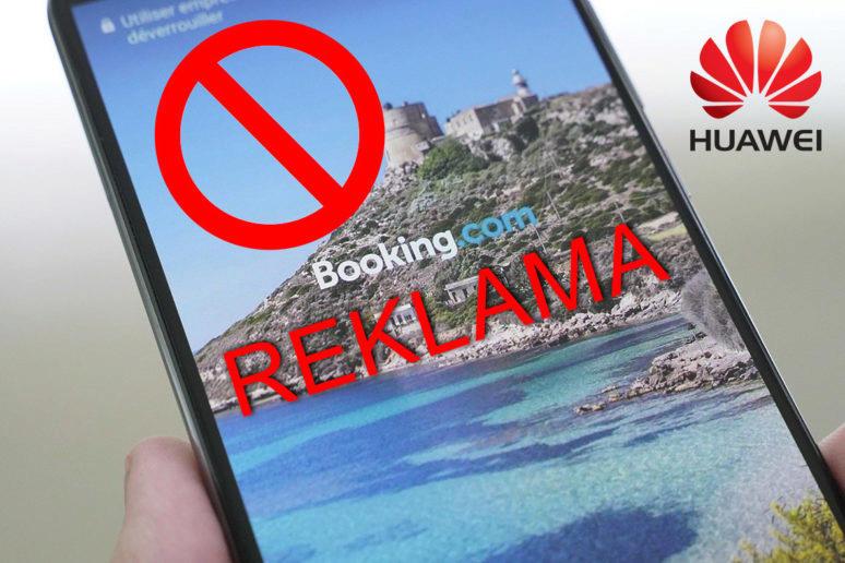 Reklama na telefonech Huawei a Honor