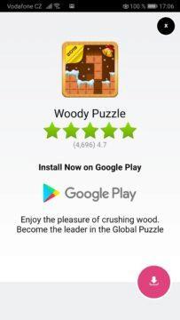 Reklama - systém Android