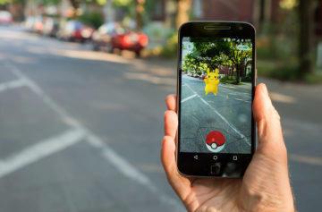 Pokémon Go - Fotoaparáty v mobilu