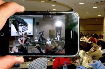 Star Wars na přednášce - Fotoaparáty v mobilu