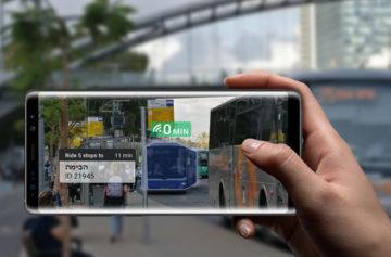 Informace o dopravě - Fotoaparáty v mobilu