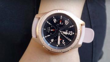 Samsung Galaxy Watch 42mm - dámské chytré hodinky