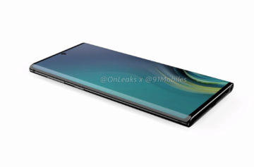 Samsung Note 10 displej