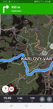 mapy seznam mapy.cz tmavy rezim