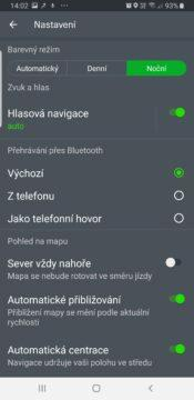 mapy.cz mapy seznam nocni rezim