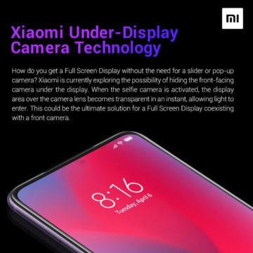 Jak vypadá kamera od Xiaomi schovaná v displeji