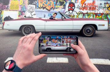Ultra širokoúhlý záběr - fotoaparát v mobilu