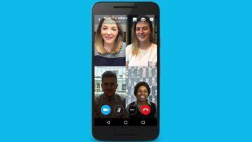 Skype - volání přes telefon