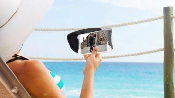 Smartphone - jak číst na slunci