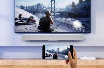 Hra se soundbarem Xiaomi