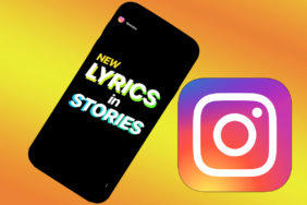 text pisne v instagram stories
