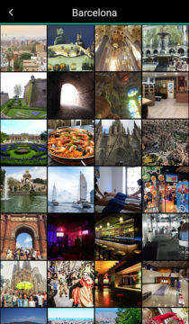 web tripadvisor Barcelona galerie