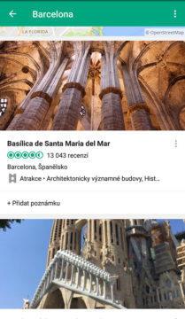 aplikace tripadvisor barcelona památky