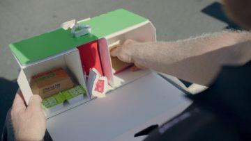 McDonalds box pro Uber Eats
