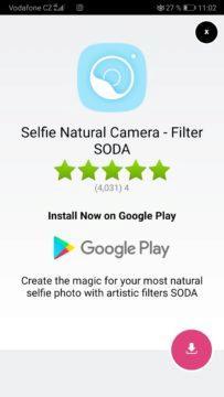 Vyskakovací reklamy - Android