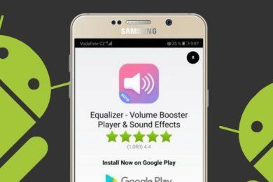 Vyskakovací reklamy - Android mobilní telefony