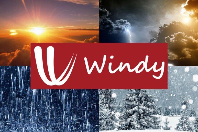 Windy - předpověď počasí