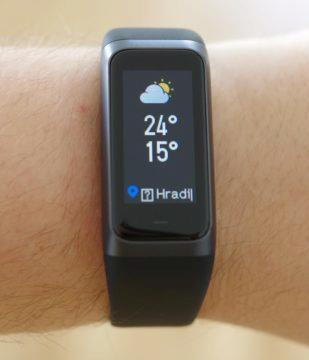 Xiaomi Amazfit Cor 2 předpověď počasí