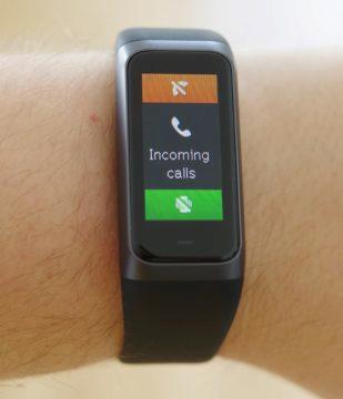 Xiaomi Amazfit Cor 2 příchozí hovor