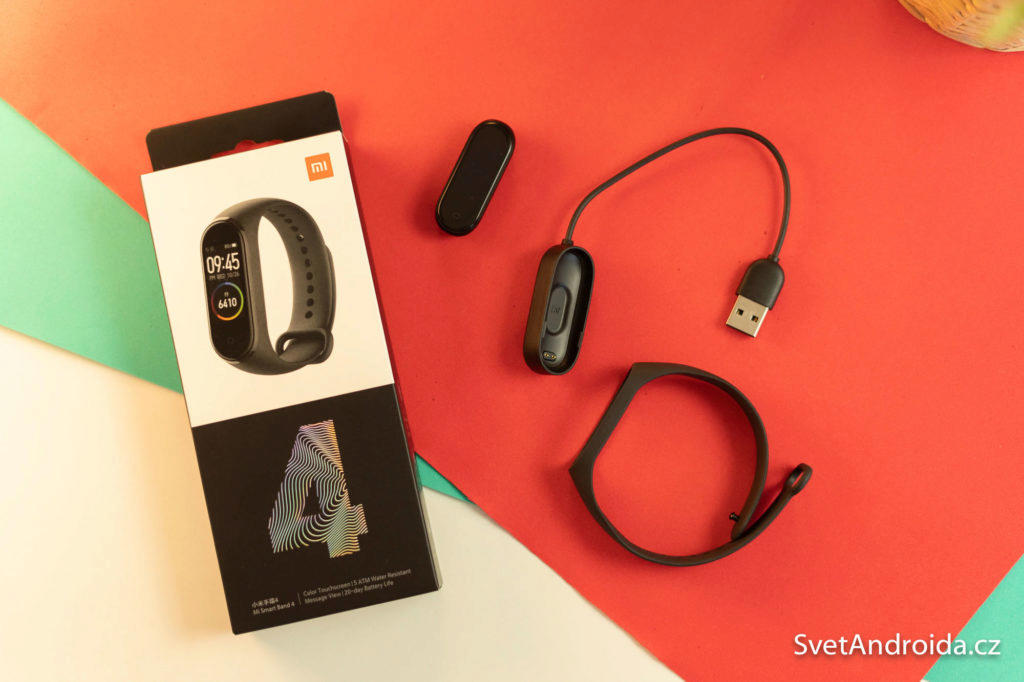 Xiaomi Mi Band 4 co je v balení