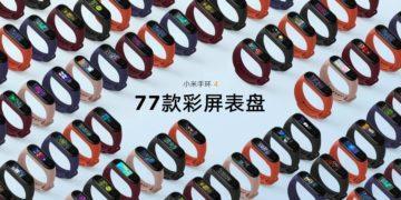 Xiaomi Mi Band 4 - barevné varianty