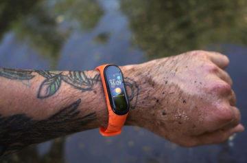 Xiaomi Mi Band 4 měření plavání