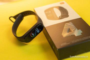 Fitness náramek Xiaomi Mi Band 4 recenze