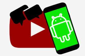 YouTube Android nové komentáře