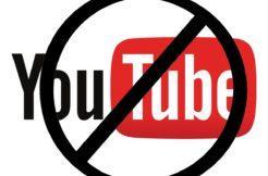 YouTube - omezení obsahu