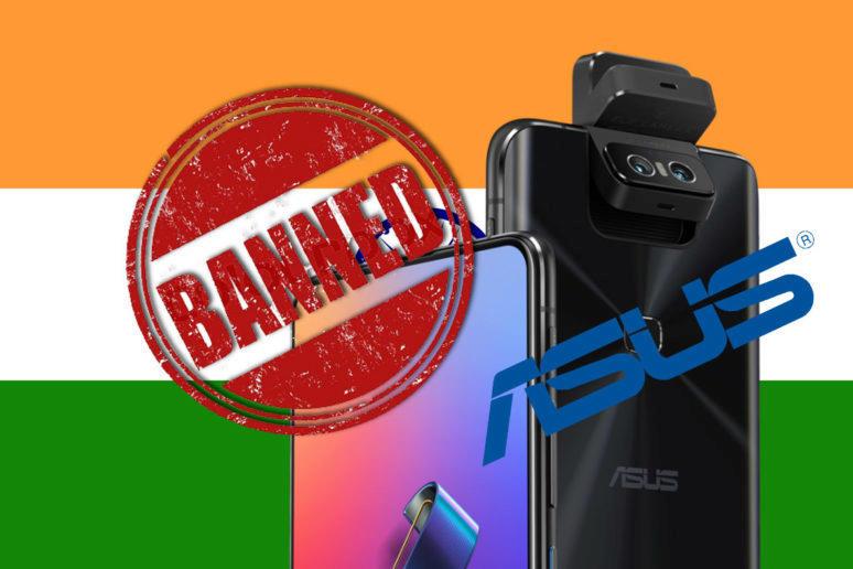 zákaz prodeje asus zenfone v indii