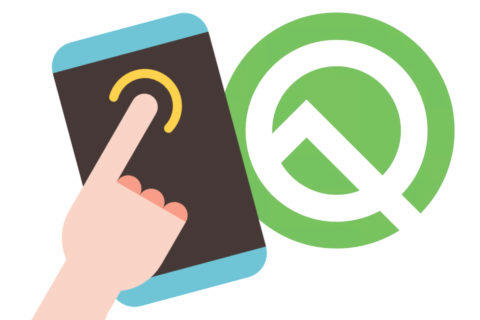 android q ovladani gesty launchery