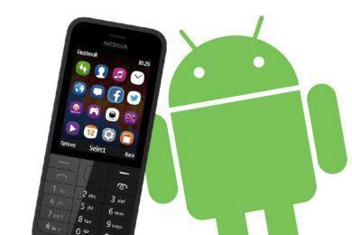 Android - tlačítkové mobily - testování