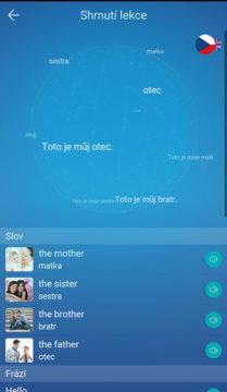 angličtina slovíčka aplikace mondly