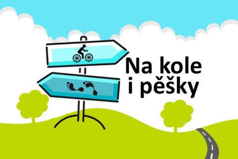aplikace cyklostezky na kole i pěšky