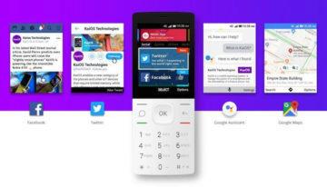 aplikace kaios chytrý tlačítkový telefon