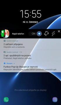 aplikace najdi telefon upozornění
