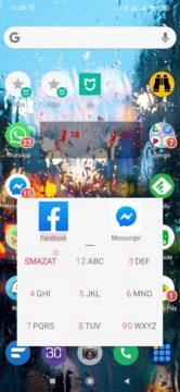 AppDialer Pro filtruje aplikace dle názvu