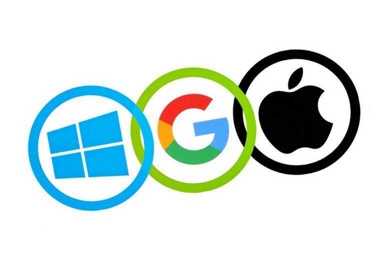 Apple, Google a Microsoft - jednotné prostředí