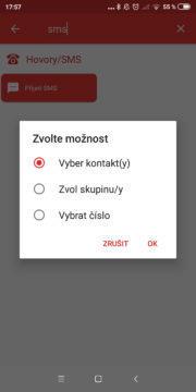 Automatizace 02 - přijetí sms