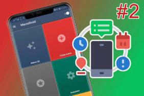 Automatizujte svůj telefon s MacroDroidem 2