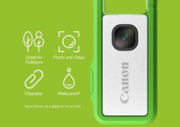 canon ivy rec externi fotoaparat