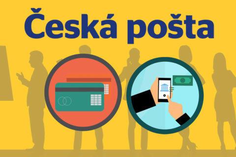 česká pošta platba kartou a mobilem
