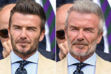 david beckhamm faceapp challenge