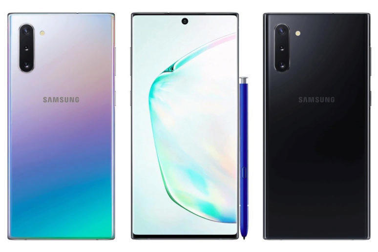 design galaxy note 10 odhaleni