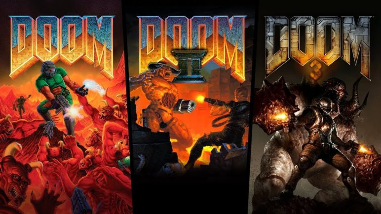 DOOM, DOOM II, and DOOM 3 Re-Release Trailer